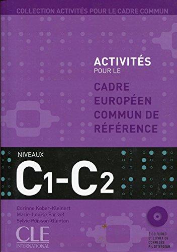 9782090353877: Activités pour le CECR - Niveaux C1/C2 - Livre + CD