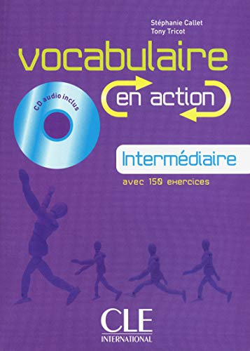 9782090353945: Vocabularie En Action. Cahier D'Exercices. Niveau Intermédiare (+ CD Audio)