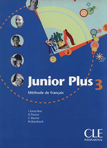 9782090354089: Junior Plus Level 3 Textbook (French Edition)
