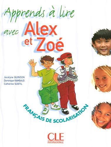 9782090354867: Apprends a Lire Avec Alex Et Zoe (English and French Edition)