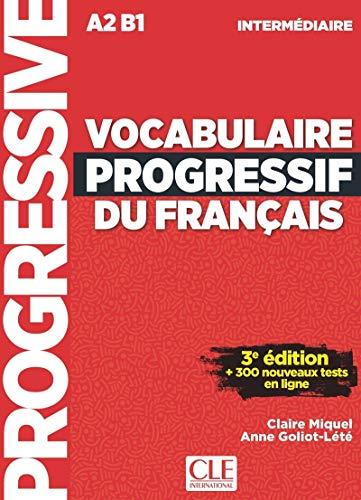 9782090380156: Vocabulaire progressif. Niveau intermediaire. Per le Scuole superiori. Con CD-Audio