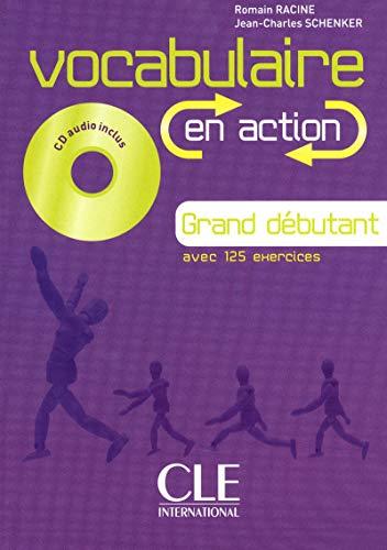 9782090380347: Vocabulaire en action + corriges. Con CD-Audio