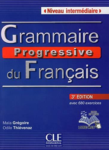 9782090381245: Grammaire Progressive Du Francais - Nouvelle Edition: Livre Intermediaire 3e Edition + Cd-audio (Collec Progress) (French Edition)