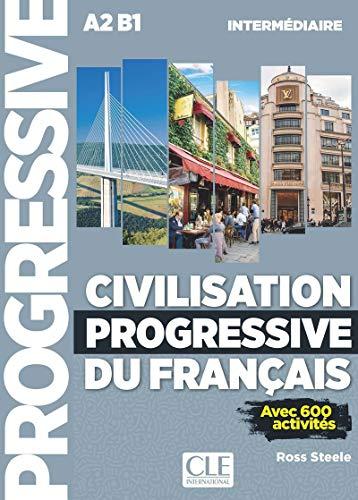 9782090381252: Civilisation Progressive du francais Intermediaire + CD mp3 [Lingua francese]
