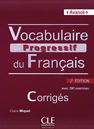 Vocabulaire progressif du français - 2e Ed.: Miquel, Claire