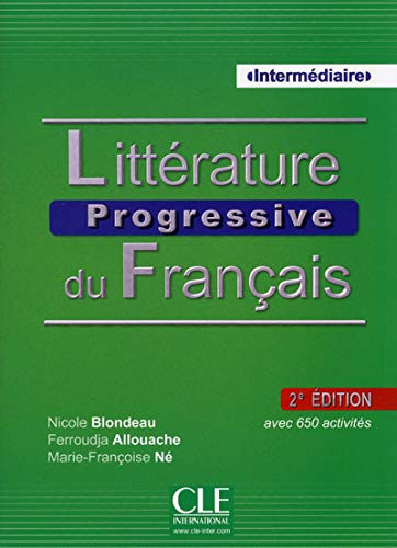 9782090381474: Litterature Progressive du Francais 2eme Edition: Livre + CD MP3 (French Edition) (Collec Progress)