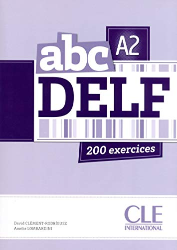 9782090381726: ABC DELF. Niveau A2 (Livre + CD Audio)