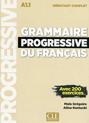 9782090382075: Grammaire Progressive Du Français. Niveau Débutant Complet. Nouvelle Couverture (+ CD) (Grammaire Progressive Du Frana)