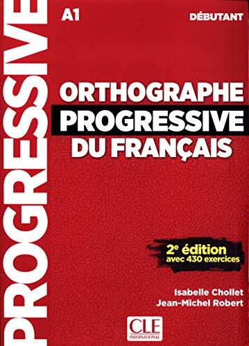 9782090382167: Orthographe progressive débutant + CD 2e édition nouvelle couverture (Progressive du français)