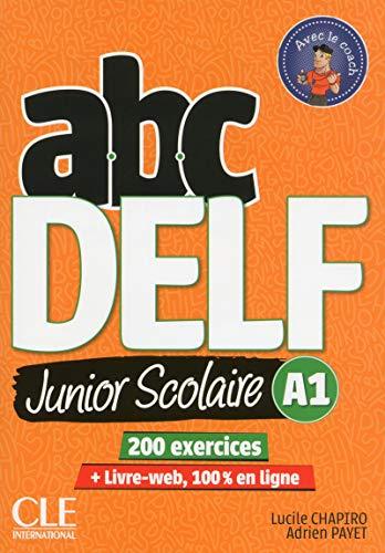 9782090382488: ABC DELF Junior scolaire - Niveau A1 - Livre + DVD + Livre-web - 2ème édition [Lingua francese]