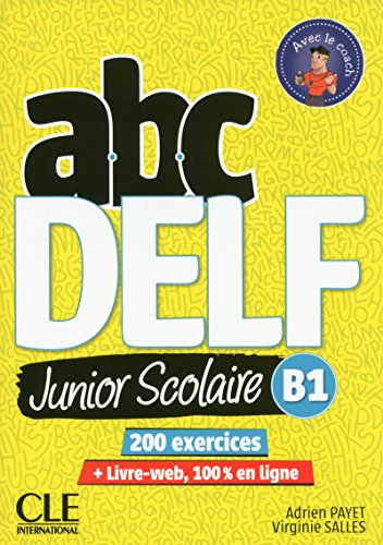 Abc Delf Junior Livre De L Eleve B1 Dvd Livre Web By