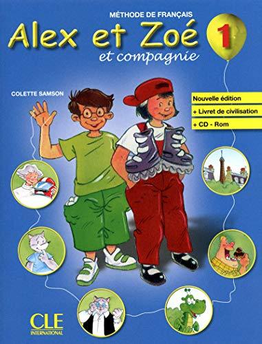Alex et Zoe 1 alumno + cd rom + Livret Civilisation n/e - Samson , Colette