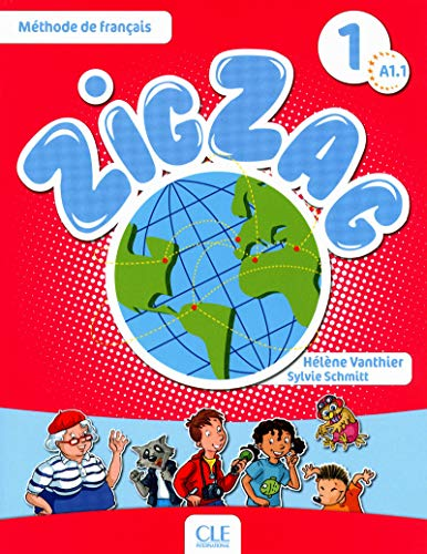 9782090383867: Zig Zag 1. Niveau A1. Livre De L'�l�ve