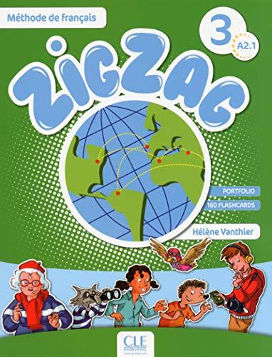 ZigZag 3 - Niveau A2.1 - Livre + CD: Hélène Vanthier