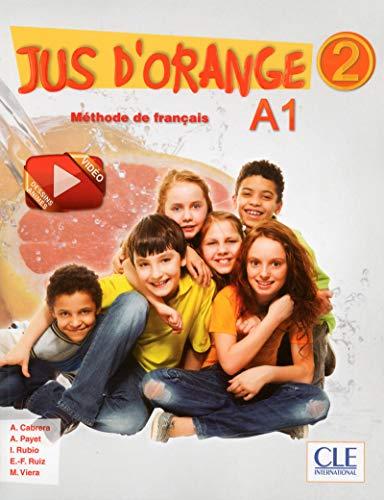 9782090384109: Jus d'orange 2 A1 : Méthode de français (1DVD)