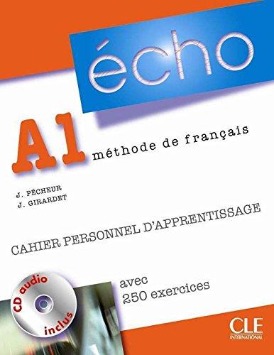 9782090385649: Echo (Nouvelle Version): Cahier Personnel D'Apprentissage + CD-Audio + Corriges A1 (French Edition)