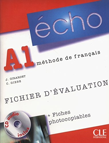 9782090385656: Echo (Nouvelle Version): Fichier D'Evaluation Photocopiable + CD-Audio A1