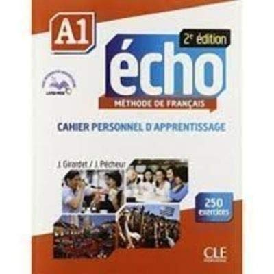 9782090385786: echo A1 methode de francais (cahier personnel d'apprentissage avec 250 exercices)