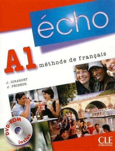 9782090385854: Methode Echo A1 Eleve + DVD Nouvelle Edition (French Edition)