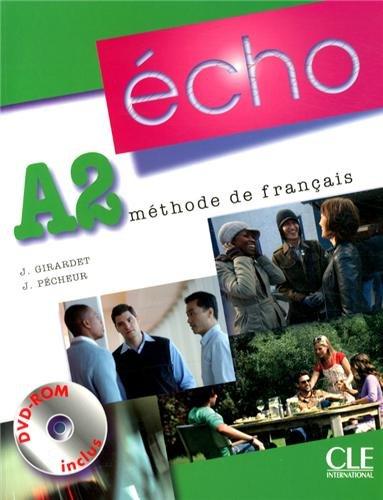 9782090385861: Methode Echo A2 Eleve + DVD ROM + DVD ROM + Portfolio (French Edition)