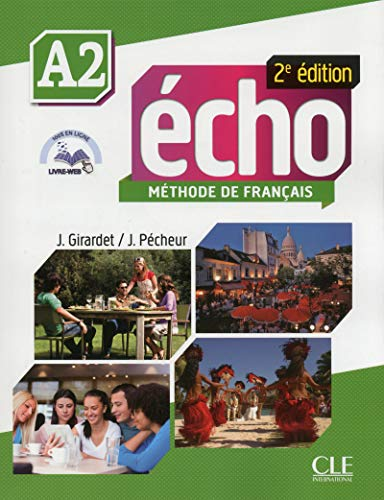 9782090385922: Echo Niveau A2 Eleve + Portfolio + DVD 2ed (French Edition)