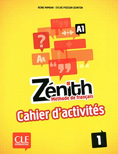 9782090386097: Zenith: Cahier d'Activites 1 (French Edition)