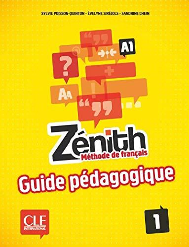 9782090386103: Zenith: Guide Pedagogique 1 (French Edition)