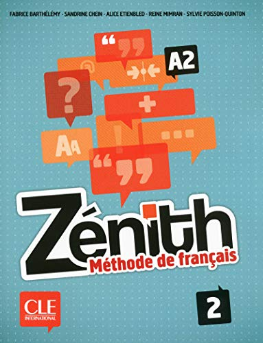 9782090386110: Zénith. Méthode De Français - Volumen 2 (+ CD Audio)