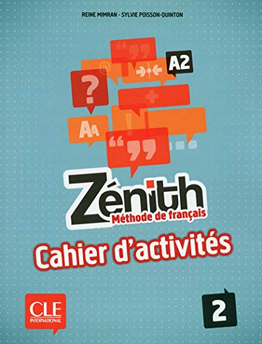 9782090386127: Zenith: Cahier dActivites 2 (French Edition)