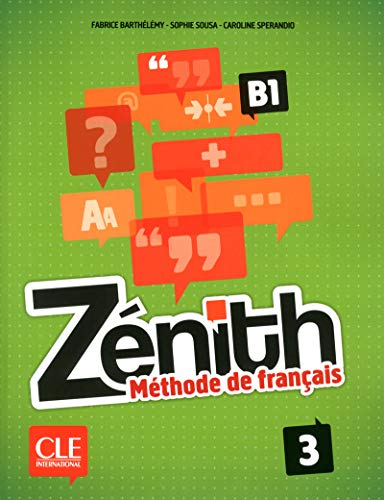 9782090386141: Zénith 3 (+ Livre De L'élève + CD-ROM): Livre de l'eleve 3 + DVD-Rom