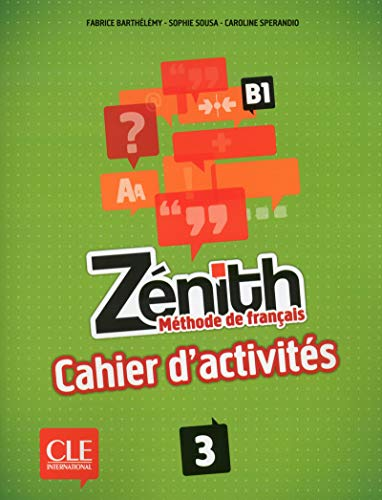 9782090386158: Zenith: Cahier d'activites (French Edition)