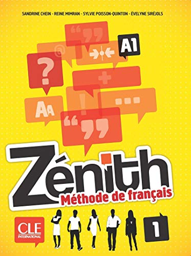 9782090386325: Zenith Niveau 1 Eleve + DVD ROM 2ed (French Edition)