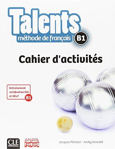9782090386356: Talents. Cahier D'Activites B1 (Tendances)