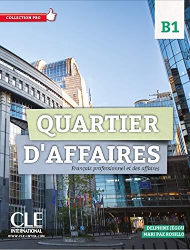 9782090386639: Quartier d'affaires 2 - Niveau B1 livre de l'eleve avec DVD-Rom (French Edition)