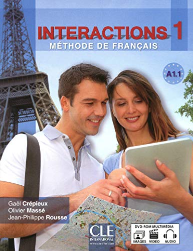 9782090386998: Interactions: Livre + DVD-Rom A1.1 (French Edition)