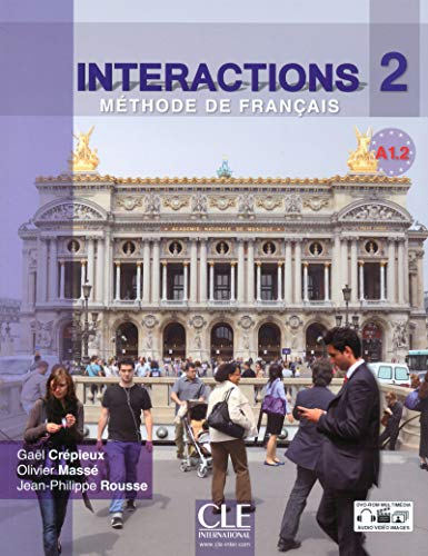 9782090387018: Interactions 2 Niveau A1.2 + (1DVD) (French Edition)