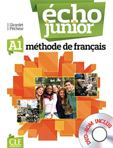 9782090387186: Echo Junior: Livre de L'Eleve + DVD-Rom A1 (French Edition)