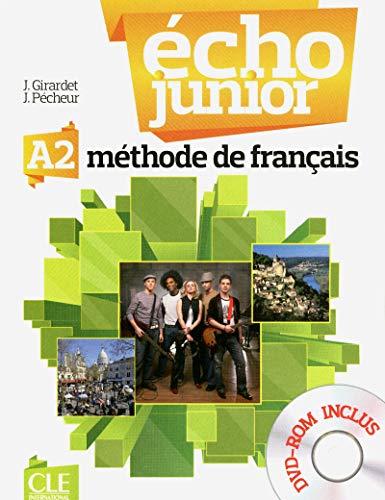 9782090387216: Echo Junior: Livre de L'Eleve + DVD-Rom A2 (French Edition)