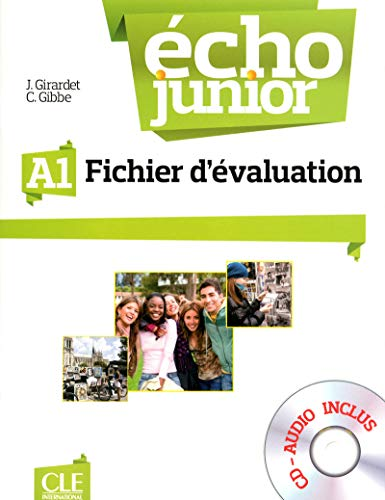 9782090387278: Echo Junior: Fichier d'Evaluation + CD-Audio A1 (French Edition)