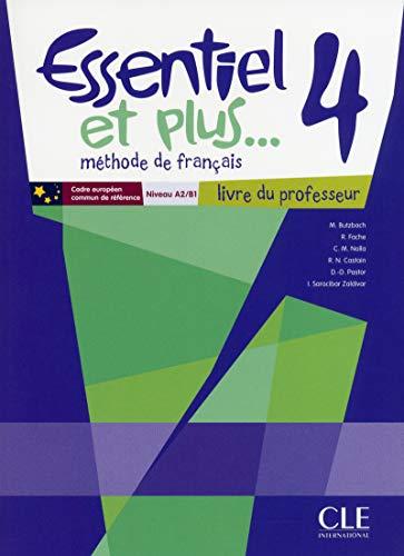 9782090387964: Essentiel et Plus: Guide Pedagogique 4 (French Edition)