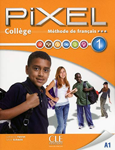 9782090388084: Pixel College Niveau 1 - Eleve + Cahier d'Exercices + DVD ROM (French Edition)