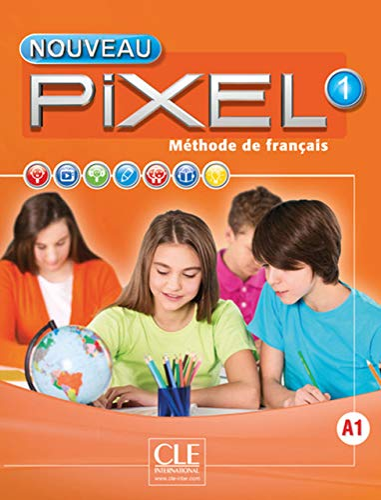 9782090389241: Nouveau Pixel 1 - Livre de l'élève + DVD-Rom (French Edition)
