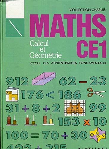 9782091035949: MATHS CE1 CALCUL ET GEOMETRIE. Cycle des apprentissages fondamentaux