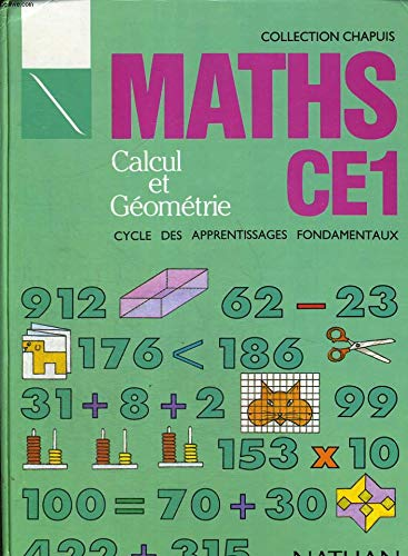 9782091035949: Maths: Calcul et géométrie : CE