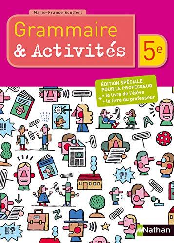 9782091059112 Francais 5e Grammaire Et Activites Speciales
