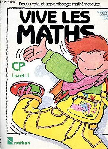 9782091080208: Vive les maths CP cahier 1