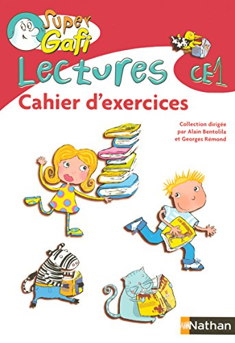 9782091200781: Super Gafi CE1 cahier d'exercices lectures