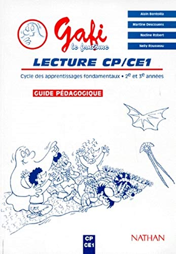 9782091201696: Gafi CP CE1 maitre methode de lecture (French Edition)