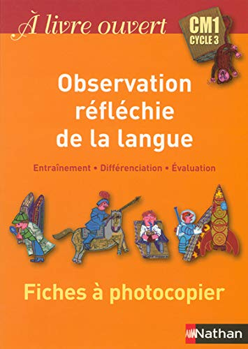 Observation reflechie de la langue CM1 (French Edition): Christian Demongin