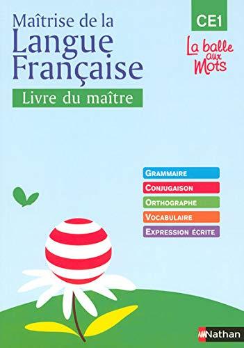 Maîtrise de la langue française CE1 (French Edition): Henri Mitterand